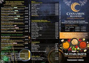 Cinnamon-Takeaway-Menu-design-front