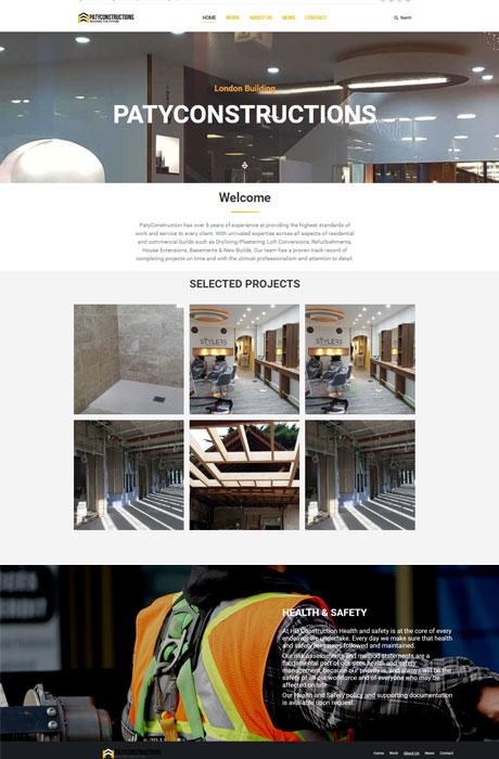 Patty-Constraction,-plumbing,-plastering,-tiling-website-design