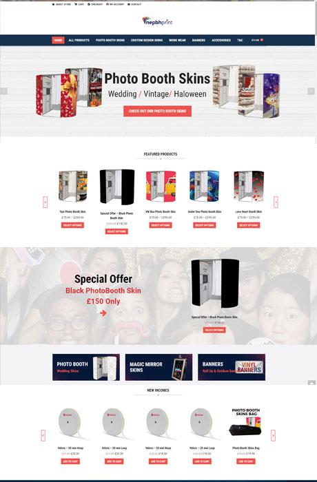 Photo-Booth-Skins-Website-Ecommerce-design
