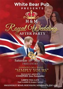 Royal-wedding---After-party-Poster