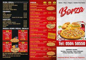 Borza-takeaway-menu-design