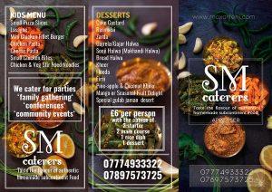 Catering-Menu-design