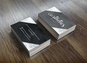 aestethics-business-card-design